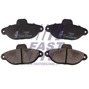 Brake Pad Set, disc brake FT29005 PUNTO (188) 1.2 16V 80 MY 2004