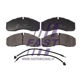 Bremsbelagsatz, Scheibenbremse Höhe: 66mm, Dicke/Stärke: 20mm mit OEM-Nummer 5001844748