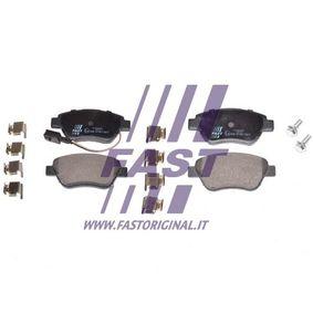Bremsbelagsatz, Scheibenbremse Höhe: 53mm, Dicke/Stärke: 18mm mit OEM-Nummer 71770098