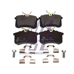 Bremsbelagsatz, Scheibenbremse Höhe: 53mm, Dicke/Stärke: 17mm mit OEM-Nummer 6X06-9845-1A