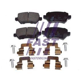 Brake Pad Set, disc brake FT29524 Astra Mk5 (H) (A04) 1.7 CDTI MY 2007
