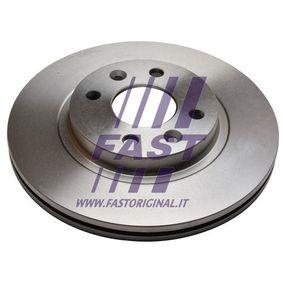 Bremsscheibe Bremsscheibendicke: 20mm, Lochanzahl: 4, Ø: 259mm, Ø: 259mm mit OEM-Nummer 77 01 205 653