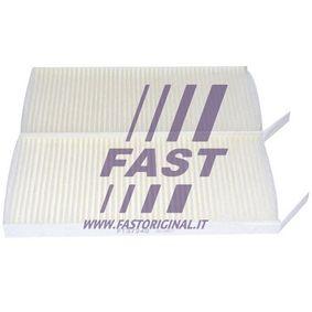 Filter, Innenraumluft Länge: 239mm, Breite: 108mm, Höhe: 20mm mit OEM-Nummer 27891-00Q0F