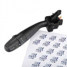 Steering Column Switch Number of connectors: 22, with high beam function, with indicator function, with light dimmer function, with rear fog light function, with rear wipe-wash function, with wipe-wash function with OEM Number 6239.JS