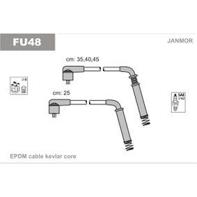 JANMOR  FU48 Ignition Cable Kit EPDM (ethylene propylene diene Monomer (M-class) rubber)