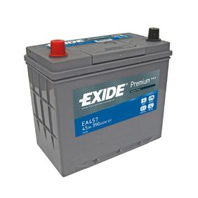 EXIDE PREMIUM EA457 Starterbatterie Polanordnung: 1