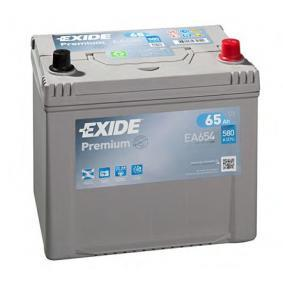 Starterbatterie EA654 IMPREZA Schrägheck (GR, GH, G3) 2.5 i WRX Bj 2009