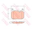 OEM Jogo de pastilhas para travão de disco TRW 22344 para MINI