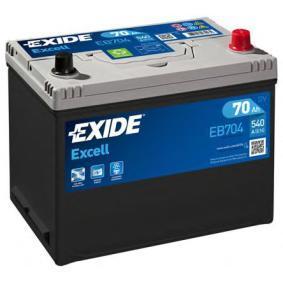 EXIDE Starterbatterie 70 Ah , 12 V , 540 A , Bleiakkumulator