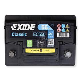 EXIDE EC550 Erfahrung