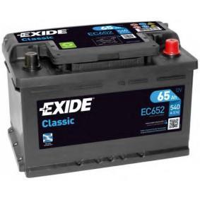Starterbatterie Polanordnung: 0 mit OEM-Nummer 61218381716