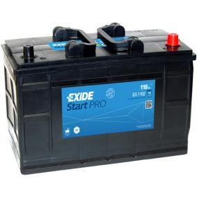 EXIDE Nutzfahrzeugbatterien 110Ah, 12V, 750A, B01, B1, Bleiakkumulator