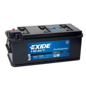 EXIDE Nutzfahrzeugbatterien 170Ah, 12V, 950A, B03, B3, Bleiakkumulator