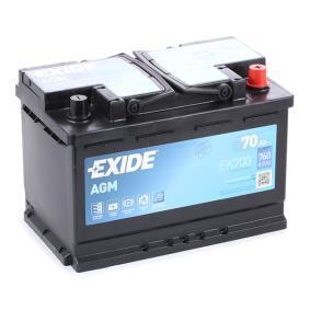 Starterbatterie EK700 TOURAN (1T1, 1T2) 2.0 TDI Bj 2008