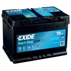 EXIDE EK700 Bewertung