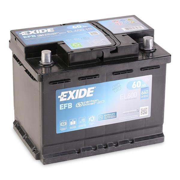 EFB60SS EXIDE mit 30% Rabatt!