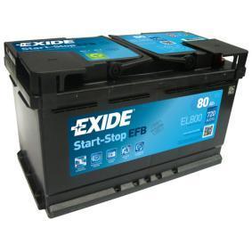 Starterbatterie EL800 ESPACE 4 (JK0/1) 2.0 dCi Bj 2014