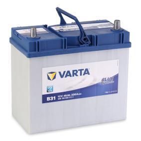Starterbatterie Polanordnung: 0 mit OEM-Nummer 96336784