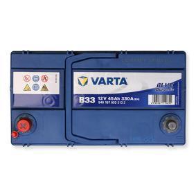 Starterbatterie Polanordnung: 1 mit OEM-Nummer 545157033 VARTA