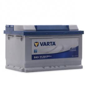 Starterbatterie Polanordnung: 0 mit OEM-Nummer 1672942