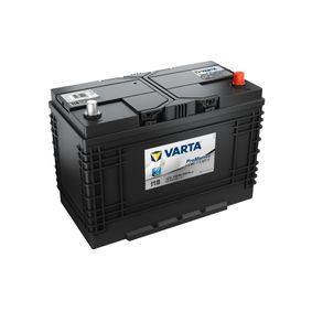 VARTA Nutzfahrzeugbatterien B01 , 110 Ah , 12 V , D2 , 680 A , HEAVY DUTY [erhöhte Zyklen- und Rüttelfestigkeit]