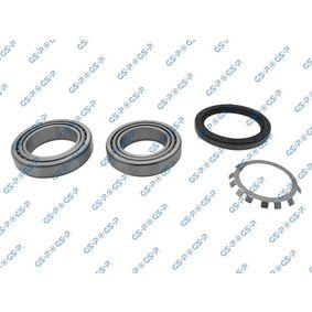 GSP Wheel Bearing Kit Rear Axle