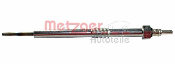 METZGER  H1 406 Bujía de precalentamiento Long. total: 160mm, Medida de rosca: M10x1.25