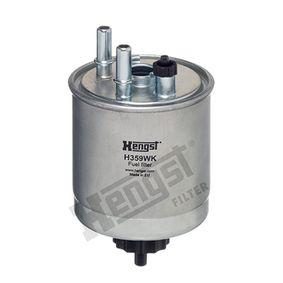 Kraftstofffilter H359WK TWINGO 2 (CN0) 1.5 dCi 90 Bj 2010