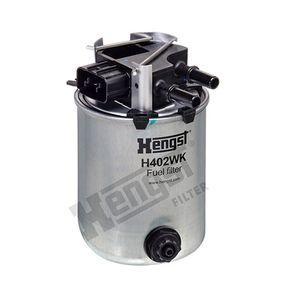 Fuel filter H402WK Qashqai / Qashqai +2 I (J10, NJ10) 1.6 dCi All-wheel Drive MY 2012