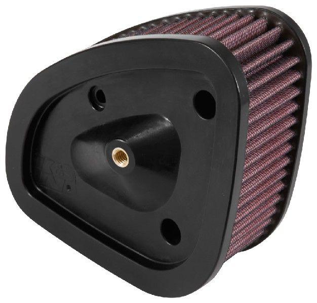 K&N Filters  HD-1717 Luftfilter Länge: 175mm, Breite: 140mm, Höhe: 70mm, Länge: 175mm