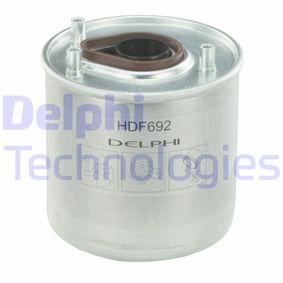 Fuel filter HDF692 FIESTA 6 1.4 TDCi MY 2011
