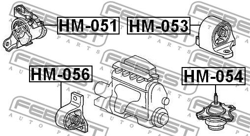 Motoraufhängung FEBEST HM-056 Bewertung