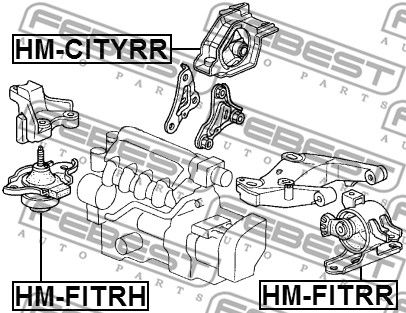 Motoraufhängung FEBEST HM-CITYRR Bewertung