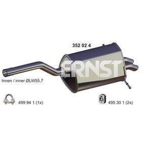 ERNST  352024 Endschalldämpfer Länge: 1050mm