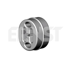 Touran 1T1, 1T2 1.9TDI Halter, Abgasanlage ERNST 497411 (1.9TDI Diesel 2008 BXE)