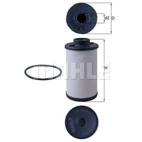Hydraulikfilter, Automatikgetriebe Automatikgetriebe, Ø: 58,1mm, Höhe: 106mm, Filtereinsatz mit OEM-Nummer 02E 398 051