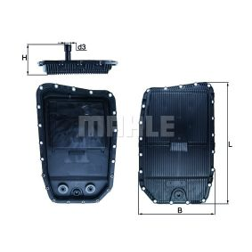 Oil Pan, automatic transmission with OEM Number 2 333 903