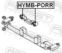 Motor Mount FEBEST HYMB-PORR rating