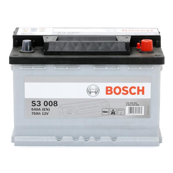 Batterij BOSCH 12V70Ah640A expert kennis