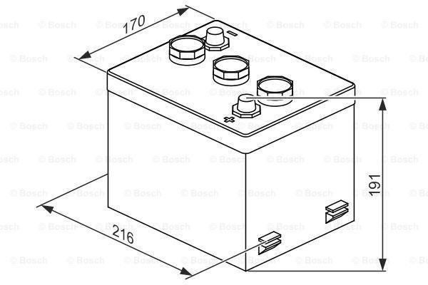 Batterie BOSCH 077015036 Bewertung