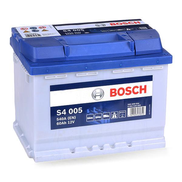 Batterij BOSCH 12V60AH540A expert kennis