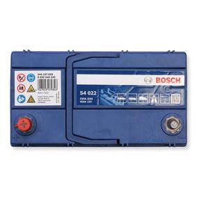 Starterbatterie Polanordnung: 1 mit OEM-Nummer 545157033 BOSCH