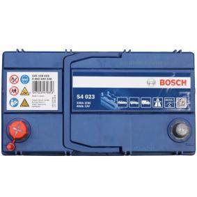 Starterbatterie Polanordnung: 1 mit OEM-Nummer 545158033 BOSCH