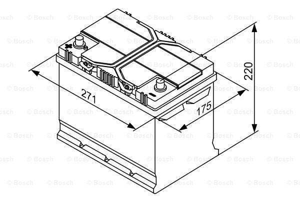 Akkumulator BOSCH 12V70Ah630A Erfahrung