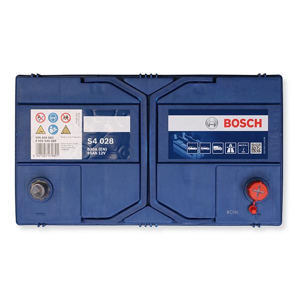 Batterie 0 092 S40 280 BOSCH S4028 in Original Qualität