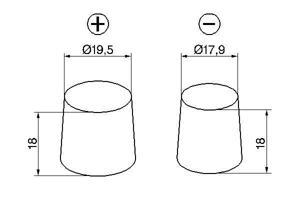 Autobatterie 0 092 S60 080 BOSCH 570901076 in Original Qualität