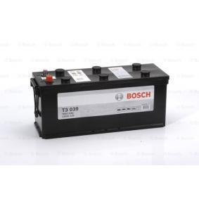 BOSCH Nutzfahrzeugbatterien 120Ah, 12V, 760A, B03, Bleiakkumulator