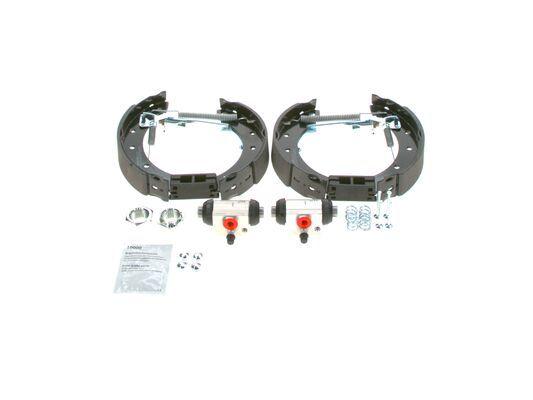 Bremsensatz, Trommelbremse 0 204 114 548 BOSCH KS548 in Original Qualität