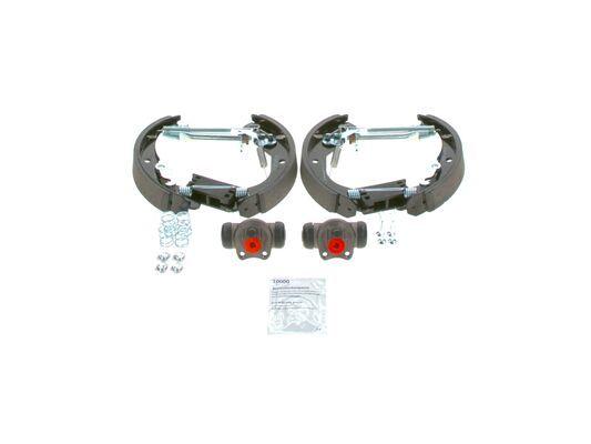 Trommelbremse Komplett 0 204 114 581 BOSCH KS581 in Original Qualität