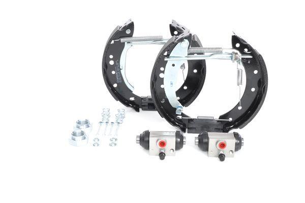 Bremsensatz, Trommelbremse 0 204 114 605 BOSCH KS605 in Original Qualität